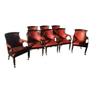 Interior Crafts Regency Style Ostrich Game Chairs