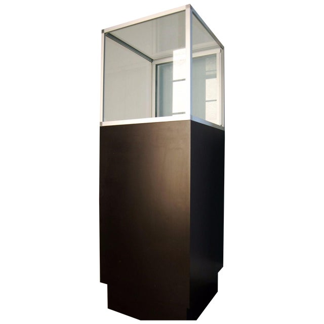 Glass Top Display Cases - A Pair - Image 1 of 6