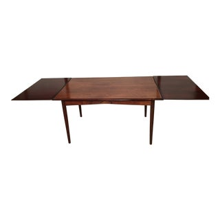 Rosewood Extending Danish Dining Table
