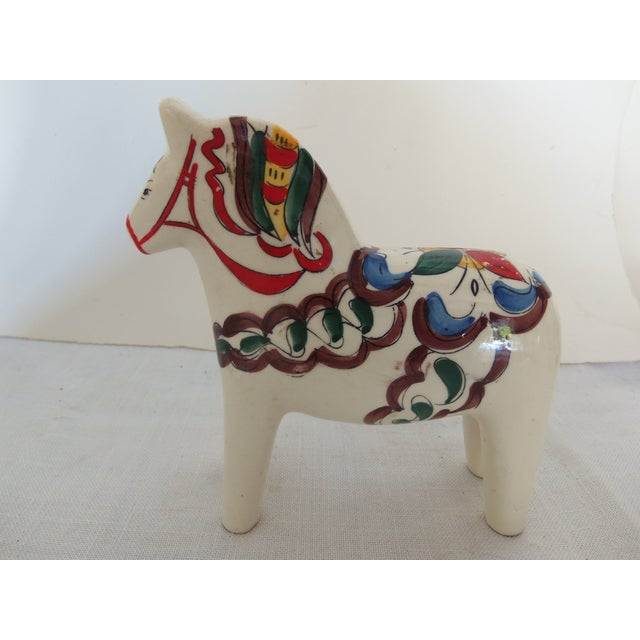 Scandia Hand-Painted Horse Statue - Image 2 of 3