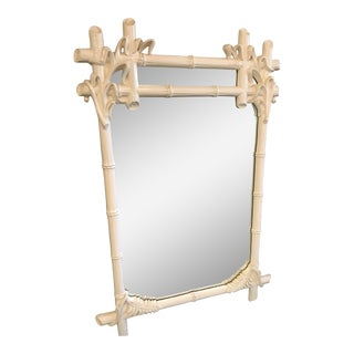 Gampel Stoll Faux Bois Wall Mirror