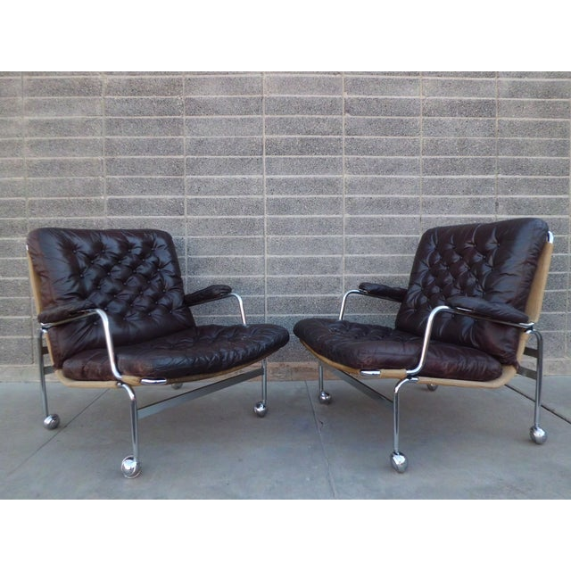 Bruno Mathsson Karin Easy Chairs For Dux Sweden - Image 2 of 8