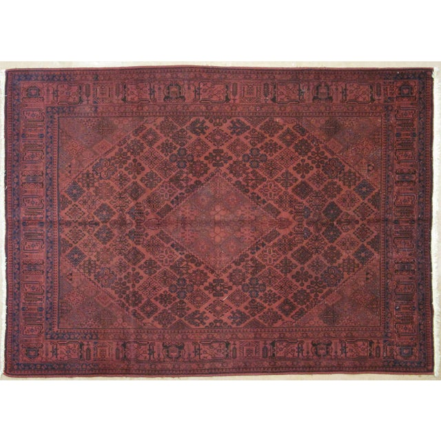Image of Leon Banilivi Over Dye Persian Rug - 7′3″ × 11′2″