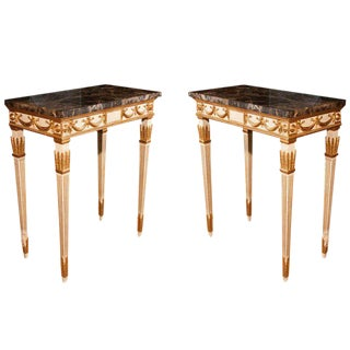 Pair of Georgian Style Console Tables