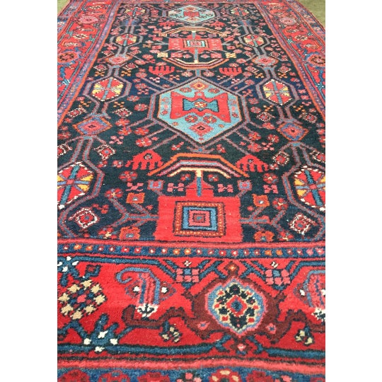 "Semi-Antique Persian Rug - 4'6"" x 7'5"" - Image 3 of 6"