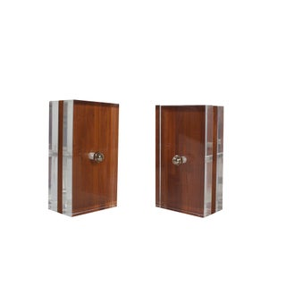 Ritts Astrolite Bookends - A Pair