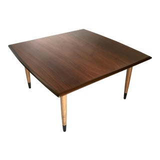Mid-Century DUX Walnut Coffee Table