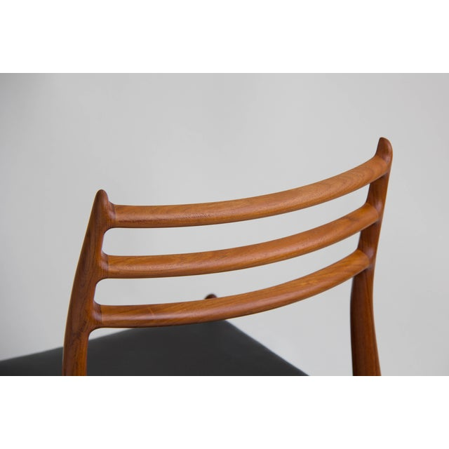 Niels Møller #78 Dining Chairs - Set of 6 - Image 9 of 11