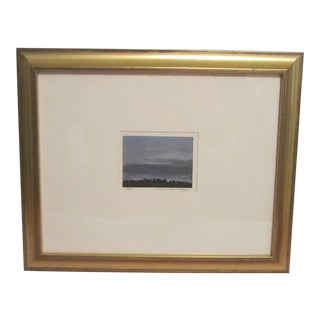 David Melby Small Skyscape Painting