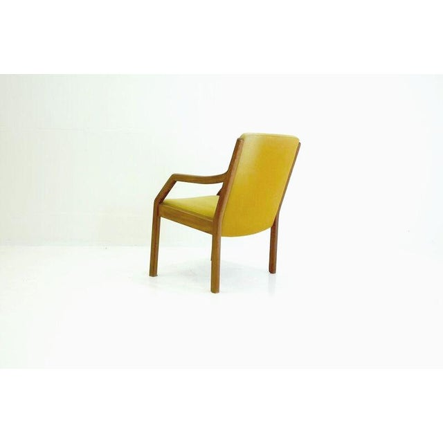 Danish Mid-Century Modern Arm Chair in Teak - Image 5 of 5