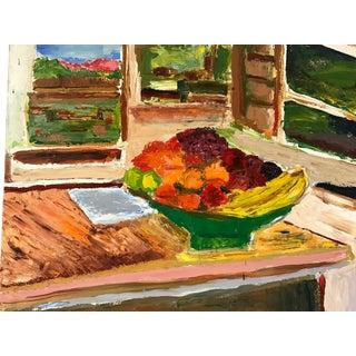 Painting of Farmhouse Kitchen Scene