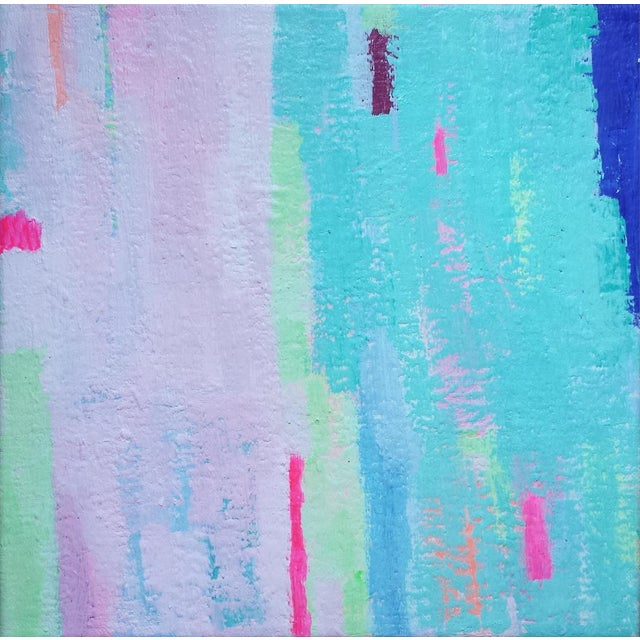 """Susie Kate """"Island Breeze No. 6"""" Abstract Painting - Image 1 of 2"""