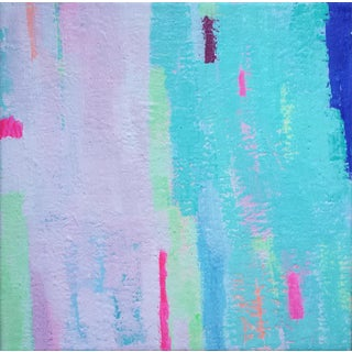 "Susie Kate ""Island Breeze No. 6"" Abstract Painting"