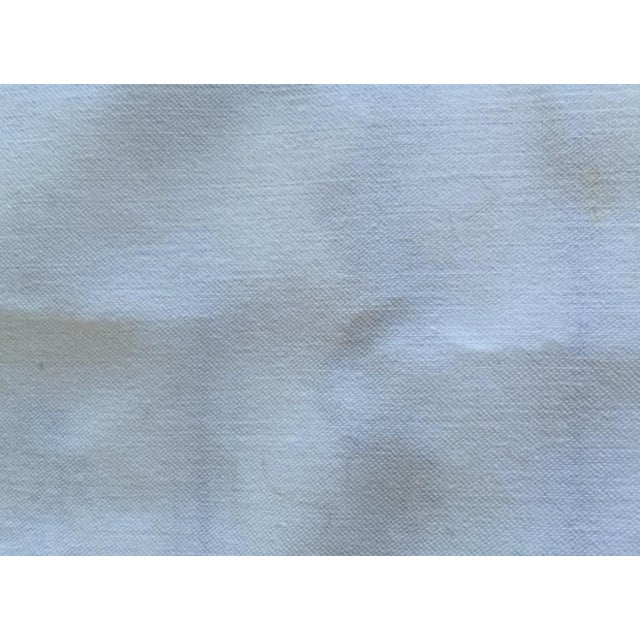 Vintage Silk White Bandana Pillow - Image 3 of 3