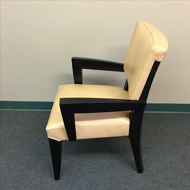 Dakota Jackson Ocean Leather Chair - Image 3 of 10