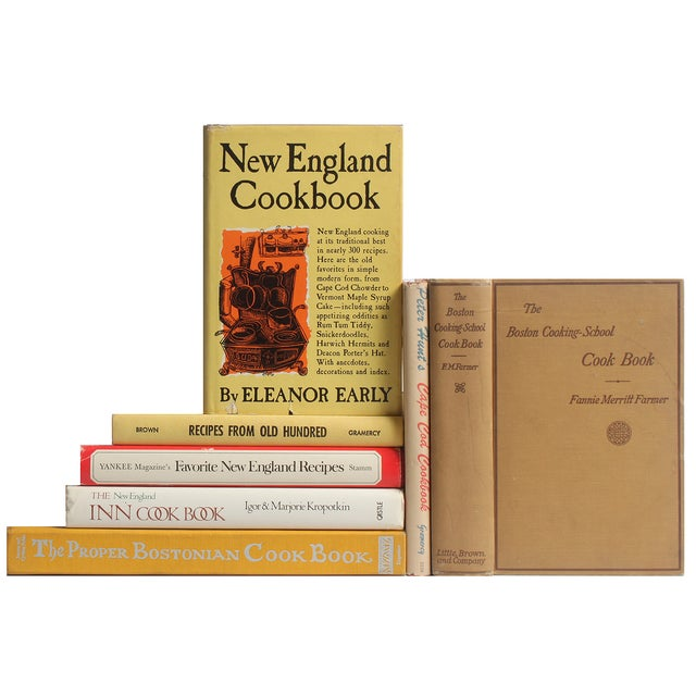 New England Cookery Books - S/7 - Image 1 of 2