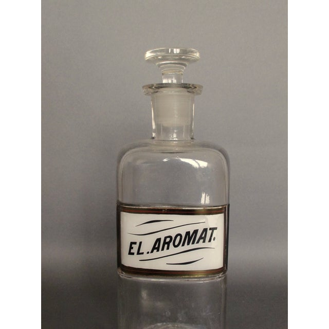 Antique Labeled Apothecary Bottle - Image 9 of 9