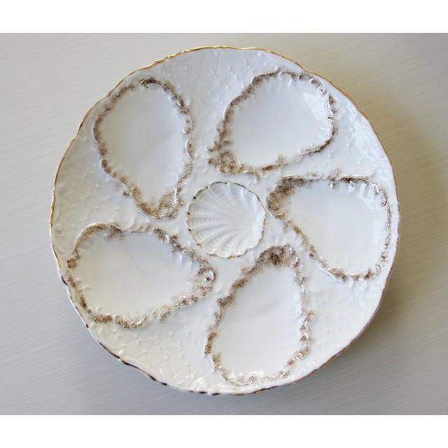 Vintage Majolica Oyster Plates - Set of 4 - Image 4 of 9