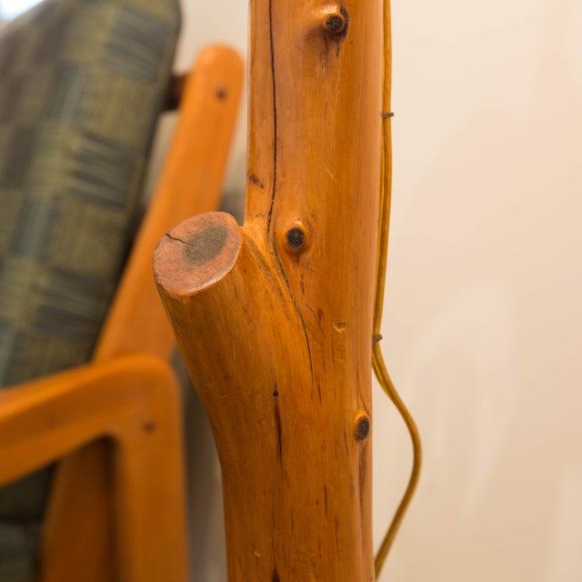 Vintage Folk Art Tree Branch Floor Lamp Chairish