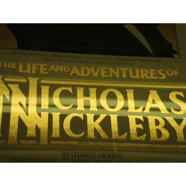 1984 Australian Theater Poster, Nicholas Nickleby - Image 3 of 6