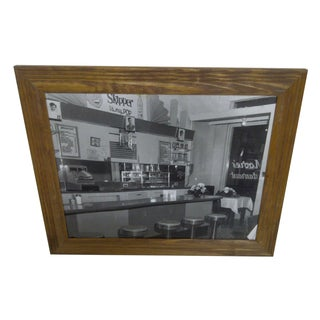 """Empty Diner"" Vintage Photo by Teenie Harris"