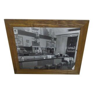 """Empty Diner"" Vintage Photo by Teenie Harris"