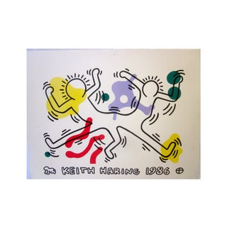 Keith Haring 1986 Pop Art Graffiti Lithograph