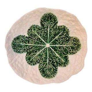 Portuguese Majolica Cabbage Bowl