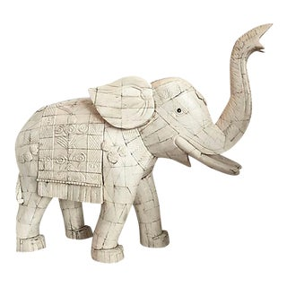 Oriental Tessellated Bone Elephant