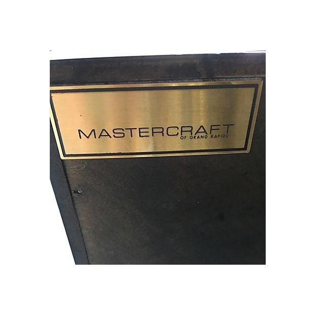 Mid-Century Mastercraft Nightstands - Pair - Image 5 of 8