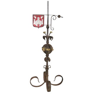 Large Iron Weather Vane
