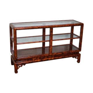 Faux Painted Asian Style Etagere