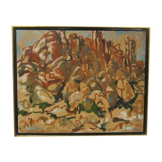 Abstract Landscape Painting of Sedona