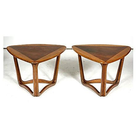 Image of Lane Furniture Vintage Guitar Pick Tables - A Pair