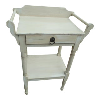 Antique Shabby Chic Bedside Table