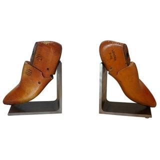 Antique Shoe Form Bookends