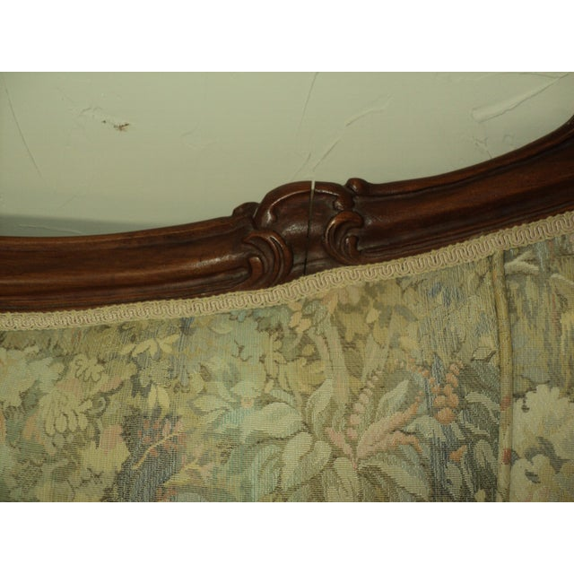 Antique French Provincial Sofa & Chair - A Pair - Image 7 of 11