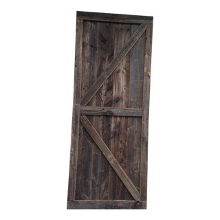 Custom Reclaimed Barnwood Barn Door