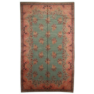 RugsinDallas Hand Knotted Wool Persian Kerman Rug - 12′ × 20′1″