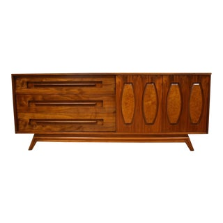 Young Walnut Credenza Dresser