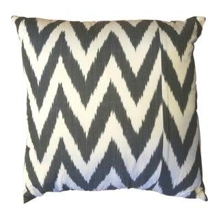 Turkish Silk Ikat Pillow