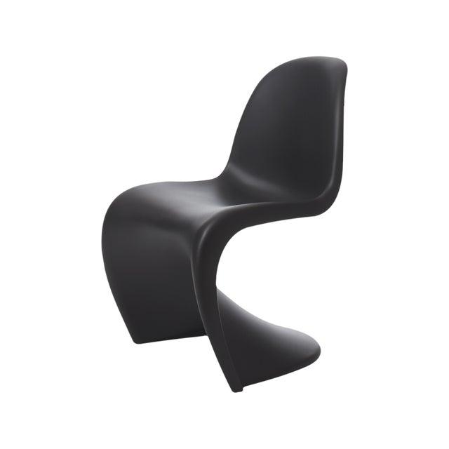 Image of Black Vitra Panton Chair - a Pair - Retail $620