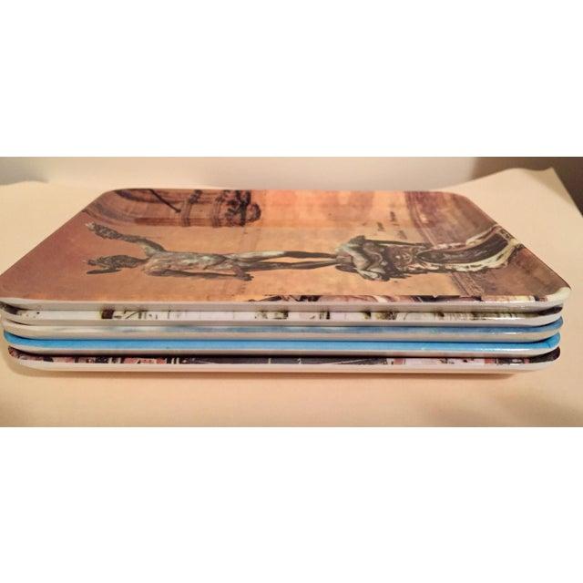 Vintage Mebel Melamine Italian Souvenir Tip Trays - Set of 5 - Image 9 of 11
