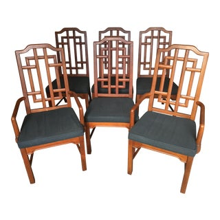 Vintage Dixie Dining Chairs - Set of 6