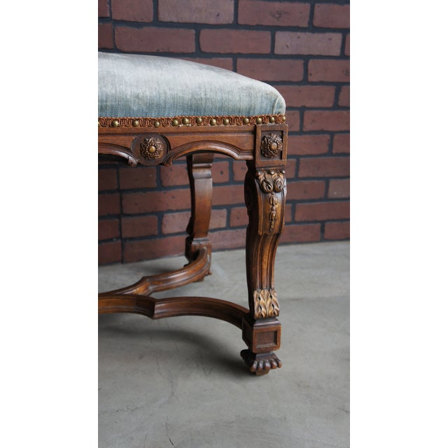 Antique French Provincial Bench - Image 4 of 9