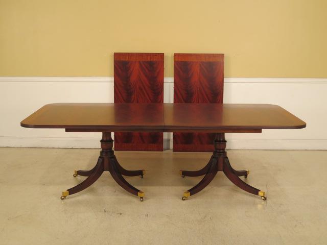 Image Of Henkel Harris Mahogany Dining Room Table