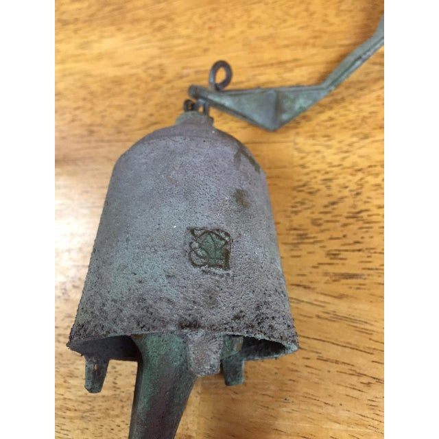 Image of Paolo Soleri Bronze & Copper Fin Wind Bell