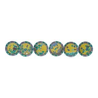 19th Century Japanese Porcelain Plates - Set of 6