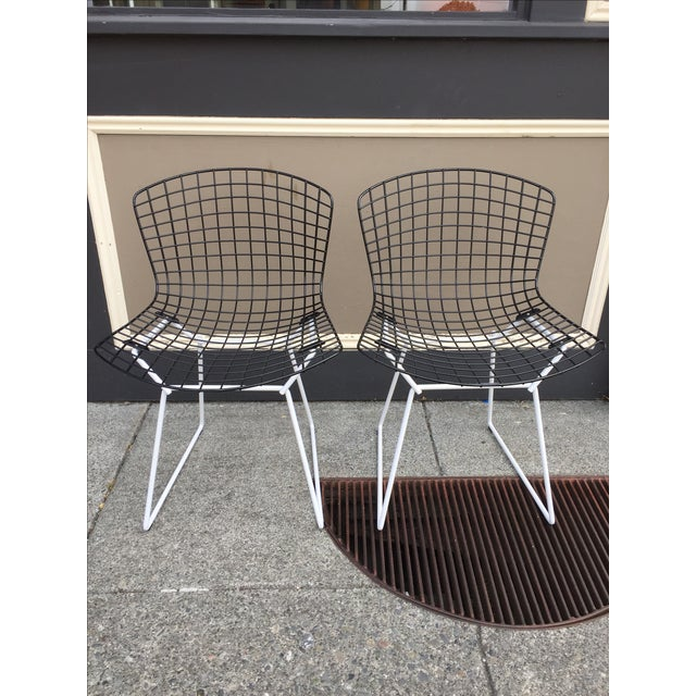 Harry Bertoia for Knoll Wire Chairs - Set of 6 - Image 3 of 8