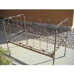 Image of 1800s Metal Crib